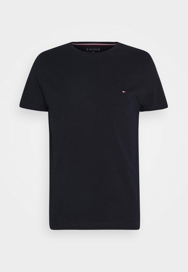 BACK LOGO TEE - Camiseta básica - desert sky