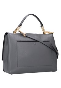 Coccinelle - LIYA  - Handbag - ash grey / noir - 1