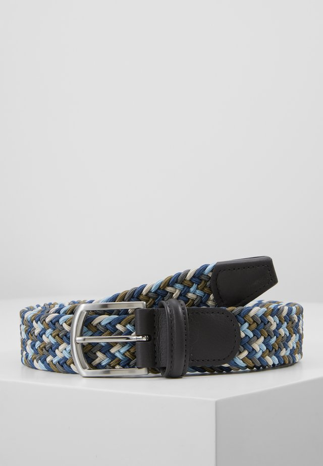 STRECH BELT UNISEX - Pletený pásek - multicolor