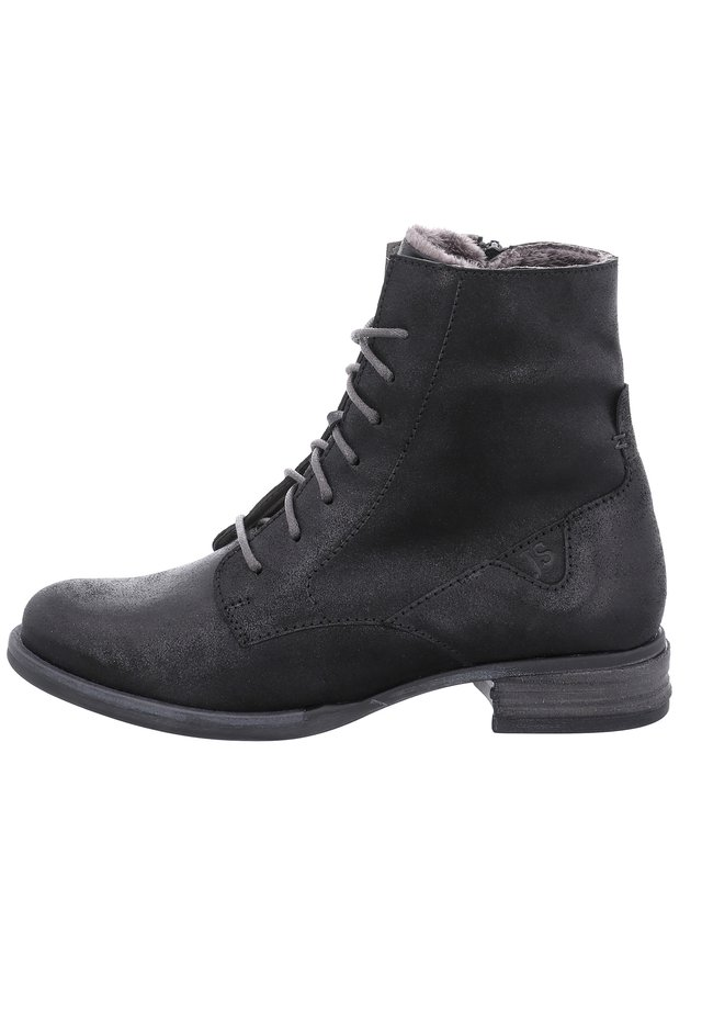 SANJA - Lace-up ankle boots - titan