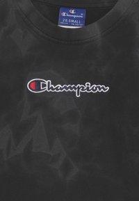 Champion Rochester - COLOR SPLASH CREWNECK UNISEX - Sweatshirt - black - 2