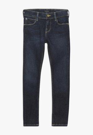 SUPER SKINNY - Skinny džíny - dark-blue denim