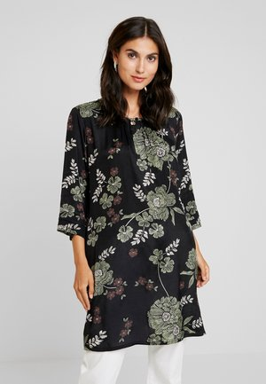 GRITH TUNIC - Robe d'été - black