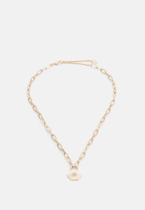 HEX DROP PENDANT NECKLACE - Necklace - gold-coloured