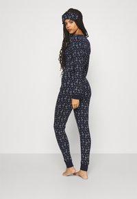 Anna Field - GIFTING JUMPSUIT - Pyjamas - dark blue - 2