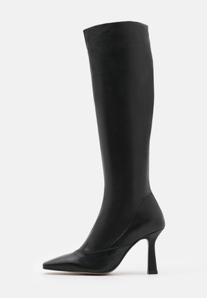ADDRESS KNEE BOOT - Klassiska stövlar - black