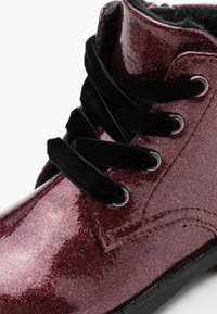 Friboo - Lace-up ankle boots - bordeaux - 5