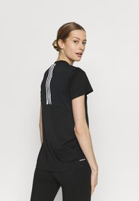 adidas Performance - Print T-shirt - black/white - 2