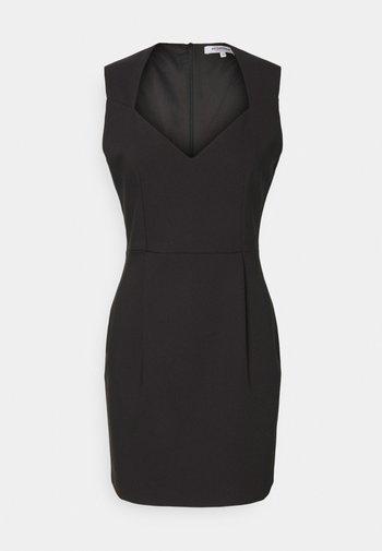 REGINA - Shift dress - noir