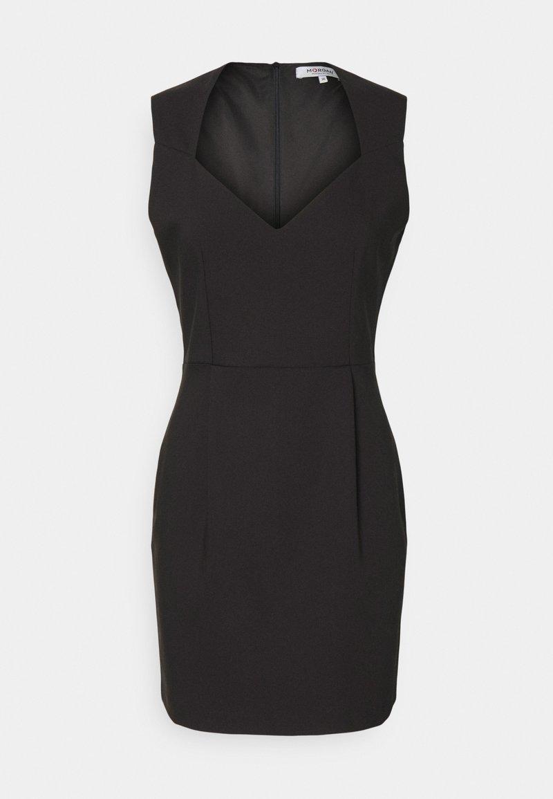 Morgan - REGINA - Shift dress - noir