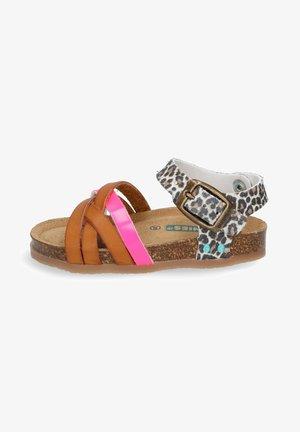 BECKY BEACH  - Sandals - leopard
