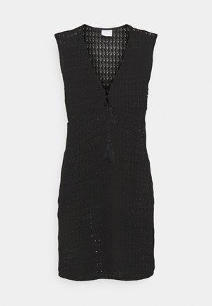 VISEILA  DRESS FESTIVAL - Sukienka dzianinowa - black