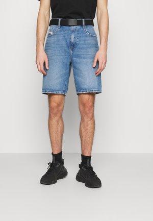 D-STRUKT-SHORT - Denim shorts - medium blue