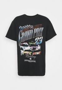 Night Addict - PRIX - T-shirt med print - black - 4