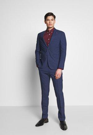 MINI HOUNDSTOOTH SLIM FIT SUIT  - Suit - blue