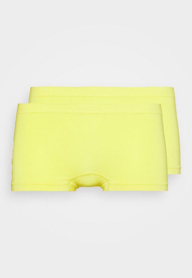 COMFORT BOYSHORT 2 PACK - Panty - blazing yellow