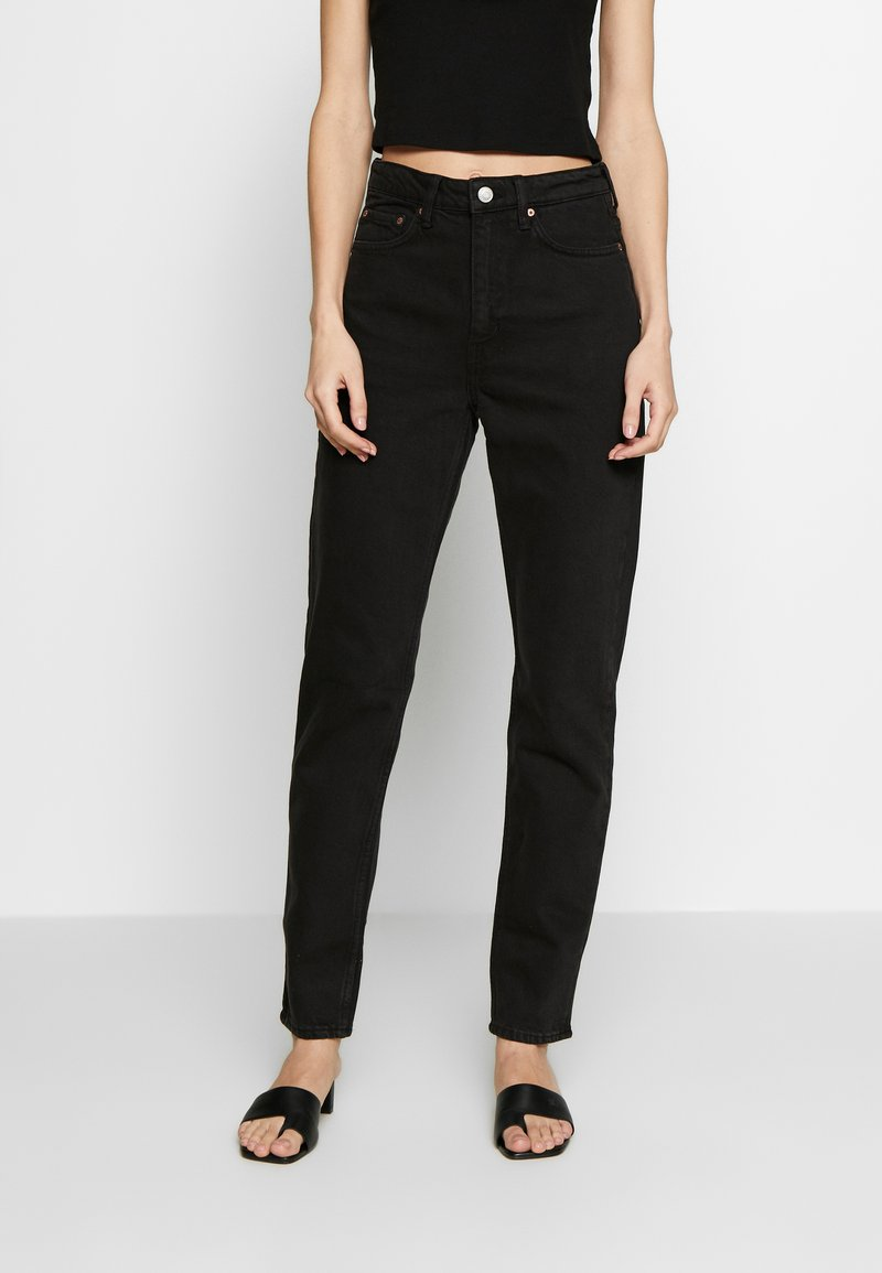 Weekday - MIKA TUNED - Jeans relaxed fit - tuned black