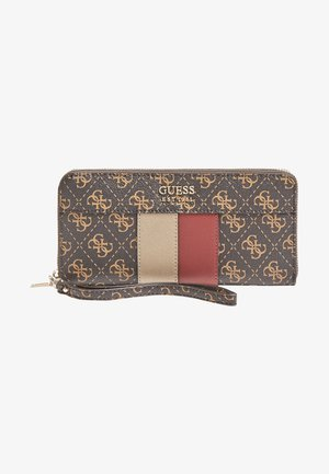 Wallet - mehrfarbig braun