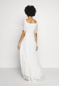 NAF NAF - ALMA - Cocktail dress / Party dress - blanc - 2