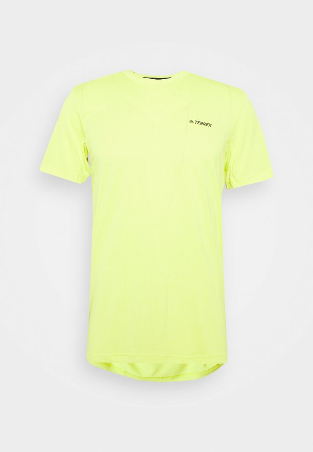 TERREX TIVID - Basic T-shirt - acid yellow
