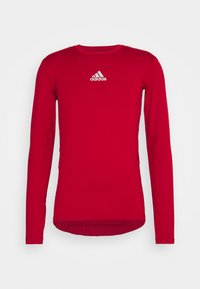 adidas Performance - TECH FIT - Funktionstrøjer - team power red - 3
