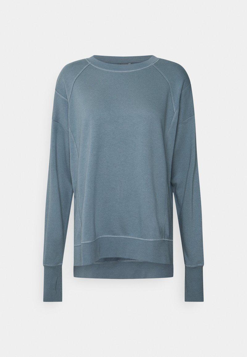 Sweaty Betty - AFTER CLASS  - Sweatshirt - steel blue