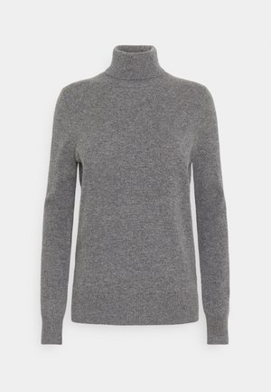 SWEATER - Sweter - medium grey heather