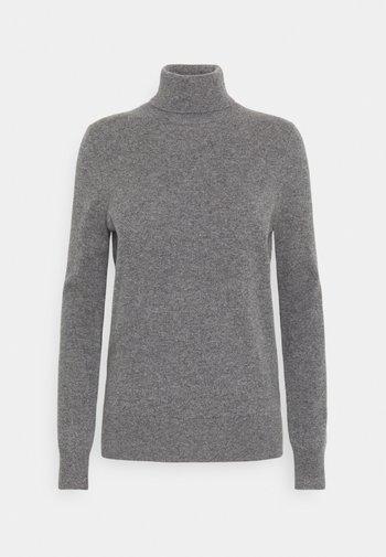 SWEATER - Strikkegenser - medium grey heather