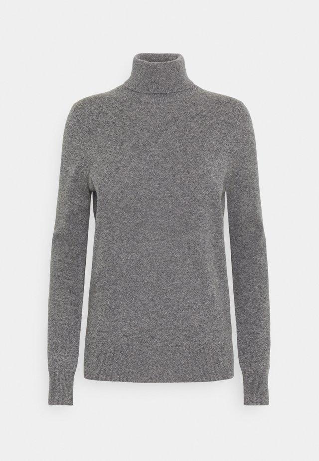 SWEATER - Sweter - medium grey heather
