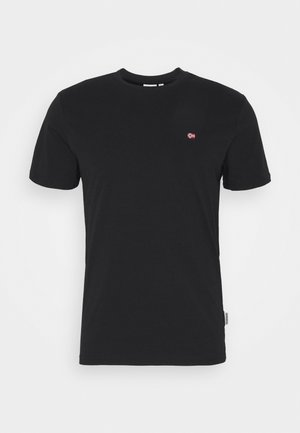 SALIS - T-Shirt basic - black