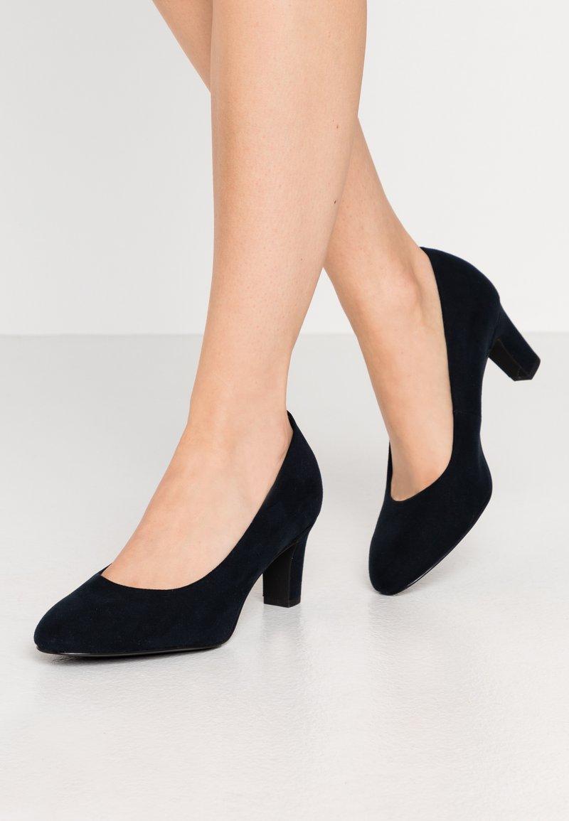 Tamaris - COURT SHOE - Classic heels - navy