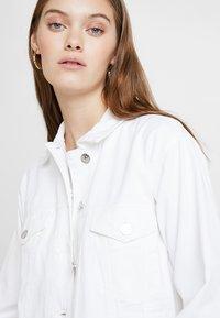 ONLY - ONLCAROLINE JACKET - Denim jacket - white - 3