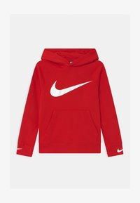 Nike Sportswear - HOODED UNISEX - Hoodie - university red/white - 0