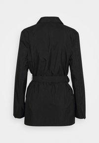 NA-KD - PATCH POCKET JACKET - Short coat - black - 1