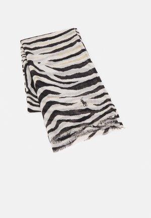 BLEND ZEBRA SCARF - Šátek - black/cream