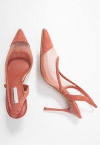 Topshop - FATE COURT SHOE - Zapatos altos - nude - 3