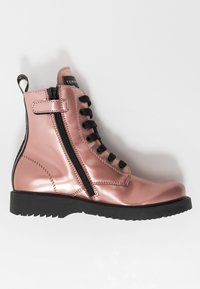 Tommy Hilfiger - Lace-up ankle boots - rose gold - 1