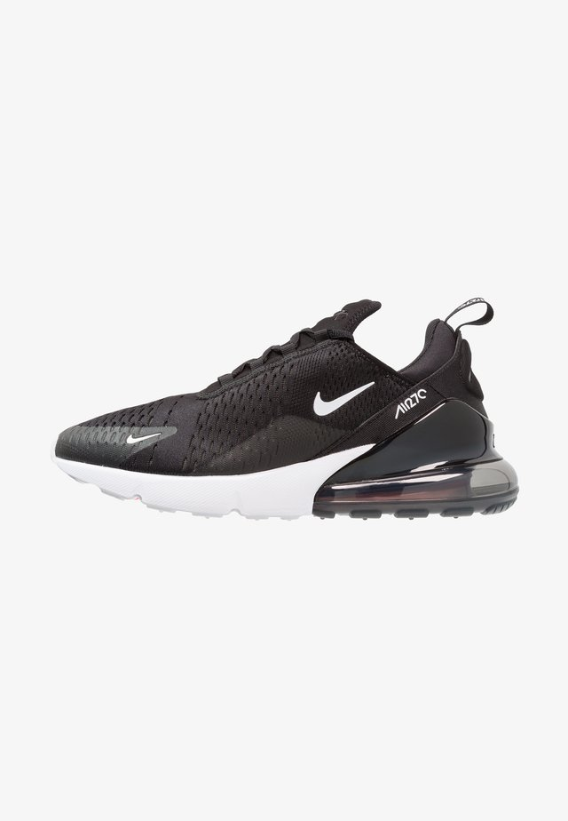 AIR MAX 270 - Sneakersy niskie - black/anthracite/white/solar red