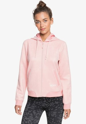 TONIGHT ILLUSIONS  - Zip-up hoodie - silver pink