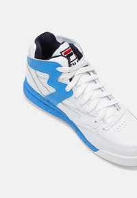 Fila - M-SQUAD UNISEX - Sneakers high - white/indigo bunting - 4