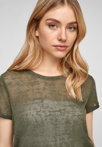 QS by s.Oliver - Blouse - olive - 3