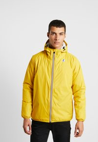 K-Way - UNISEX CLAUDE ORESETTO - Light jacket - yellow mustard - 0