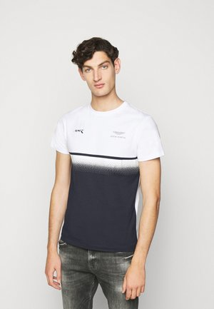 MULTI TEE - T-shirt print - white/navy