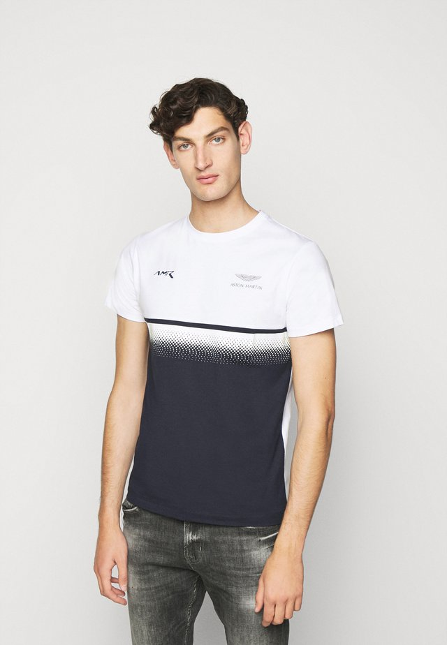 MULTI TEE - T-shirt imprimé - white/navy