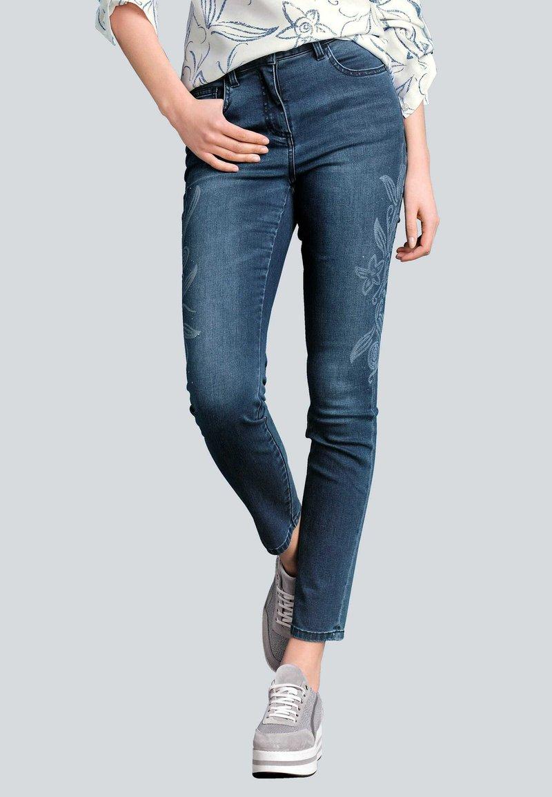 Alba Moda - Slim fit jeans - blau