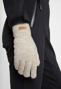 Barts - WITZIA GLOVES - Gloves - cream - 0