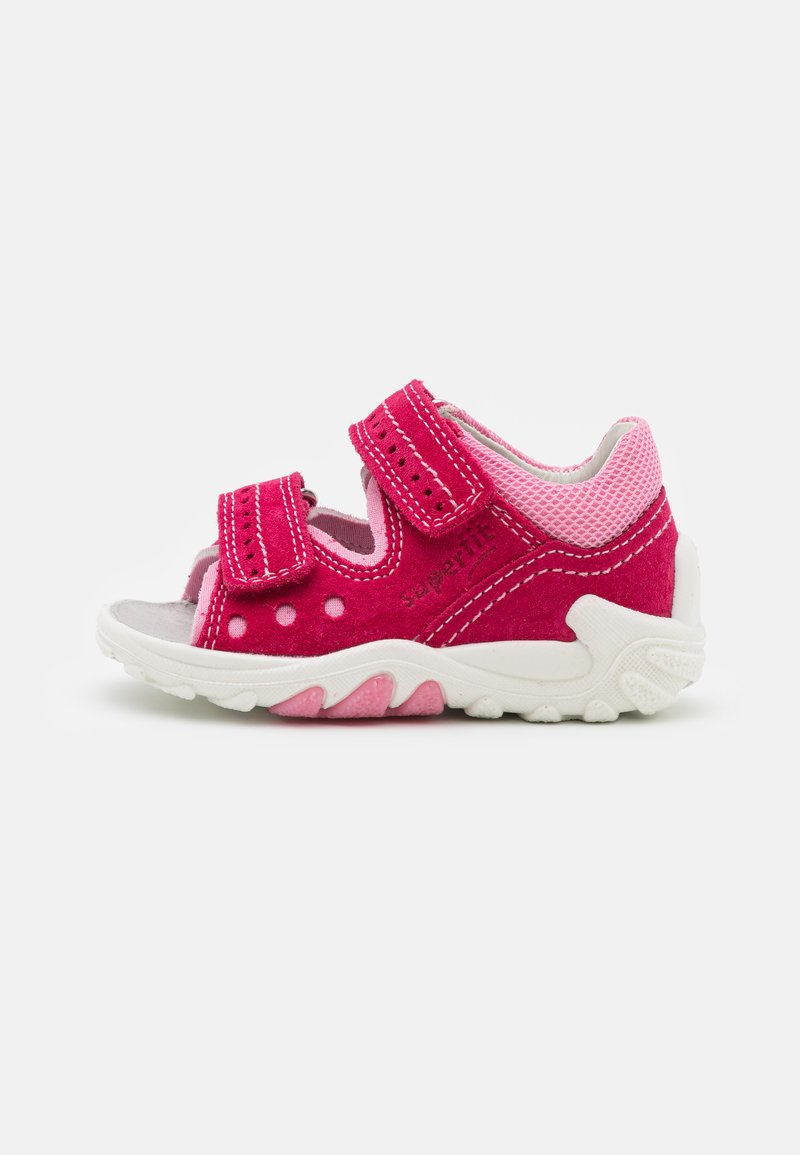 Superfit - FLOW - Sandals - rot/rosa