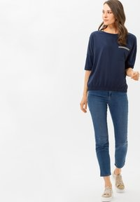 BRAX - STYLE CANDICE - Long sleeved top - blue - 1