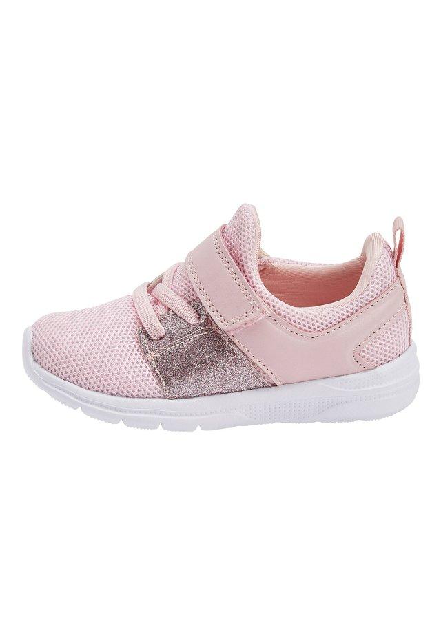 PINK GLITTER SPORT TRAINERS (YOUNGER) - Babyschoenen - pink