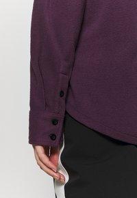 Rojo - MAIN STREET - Button-down blouse - blackberry wine - 3